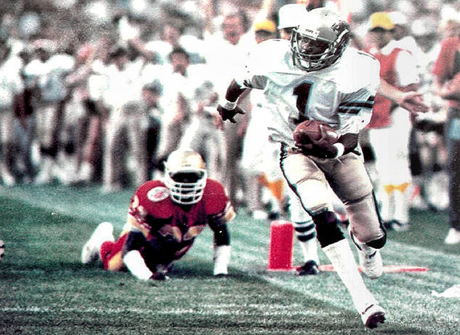 Anthony carter michigan panthers 1983 usfl championship game anthony carter michigan panthers 1983 usfl championship game sciox Gallery