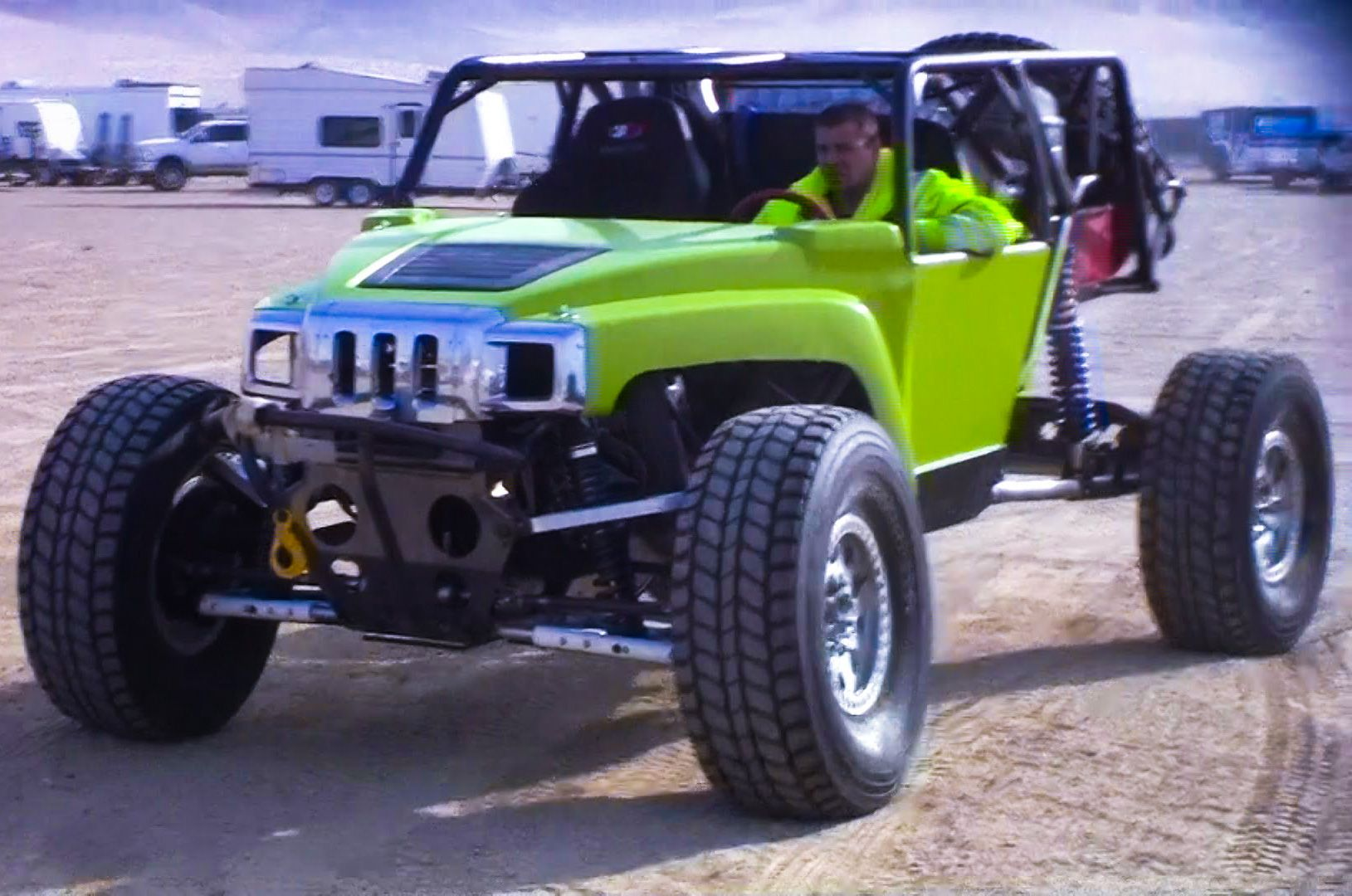 H2 IFS Duramax Buggy KOH 2012 by Busted Knuckle Video