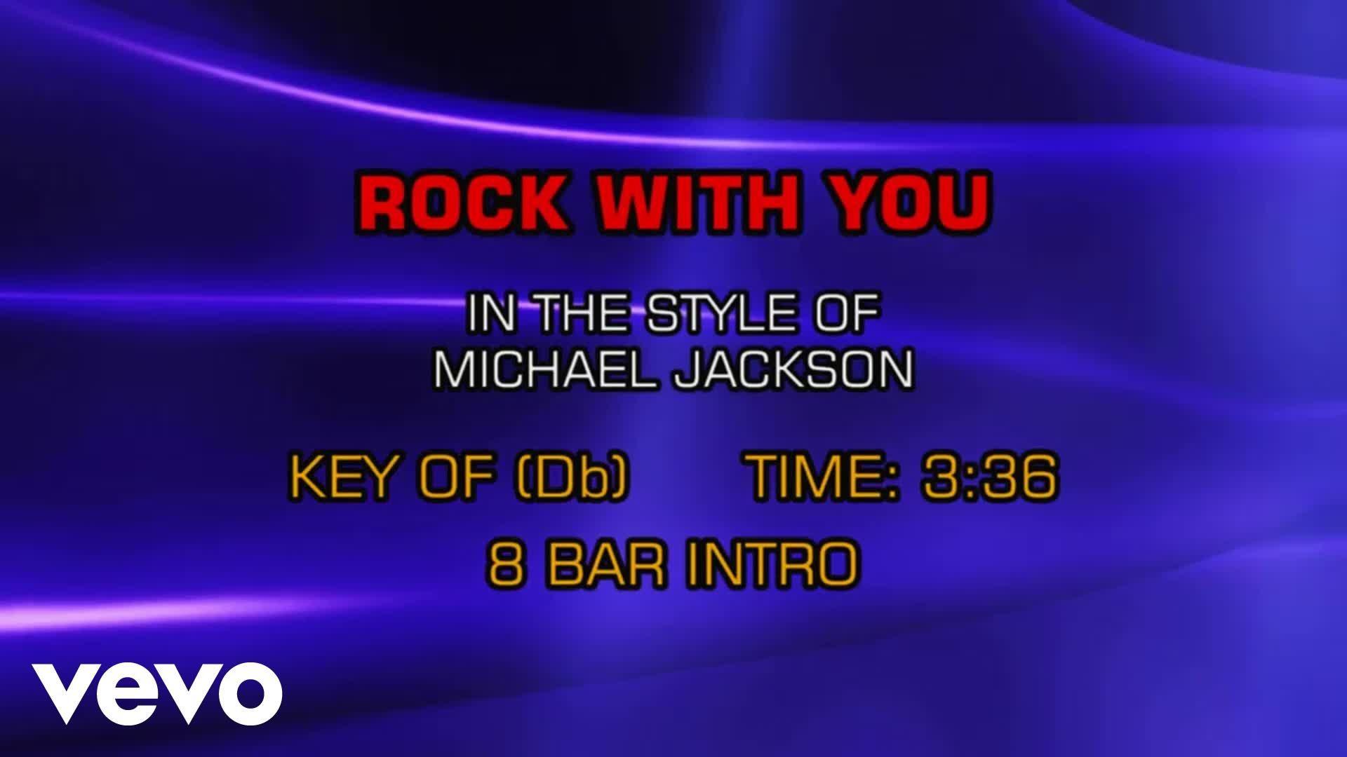 Michael Jackson Rock With You Karaoke Karaoke Genie In A