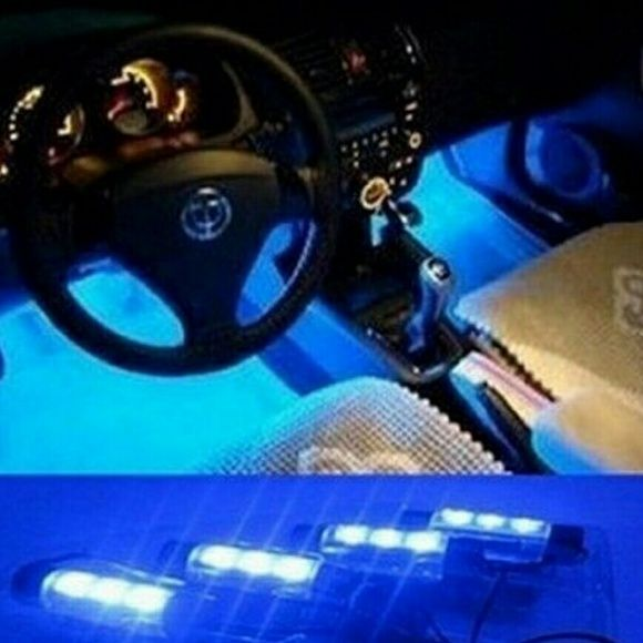 Blue Car LED lights User cool lights. Brand new in box. I bought to many. Other