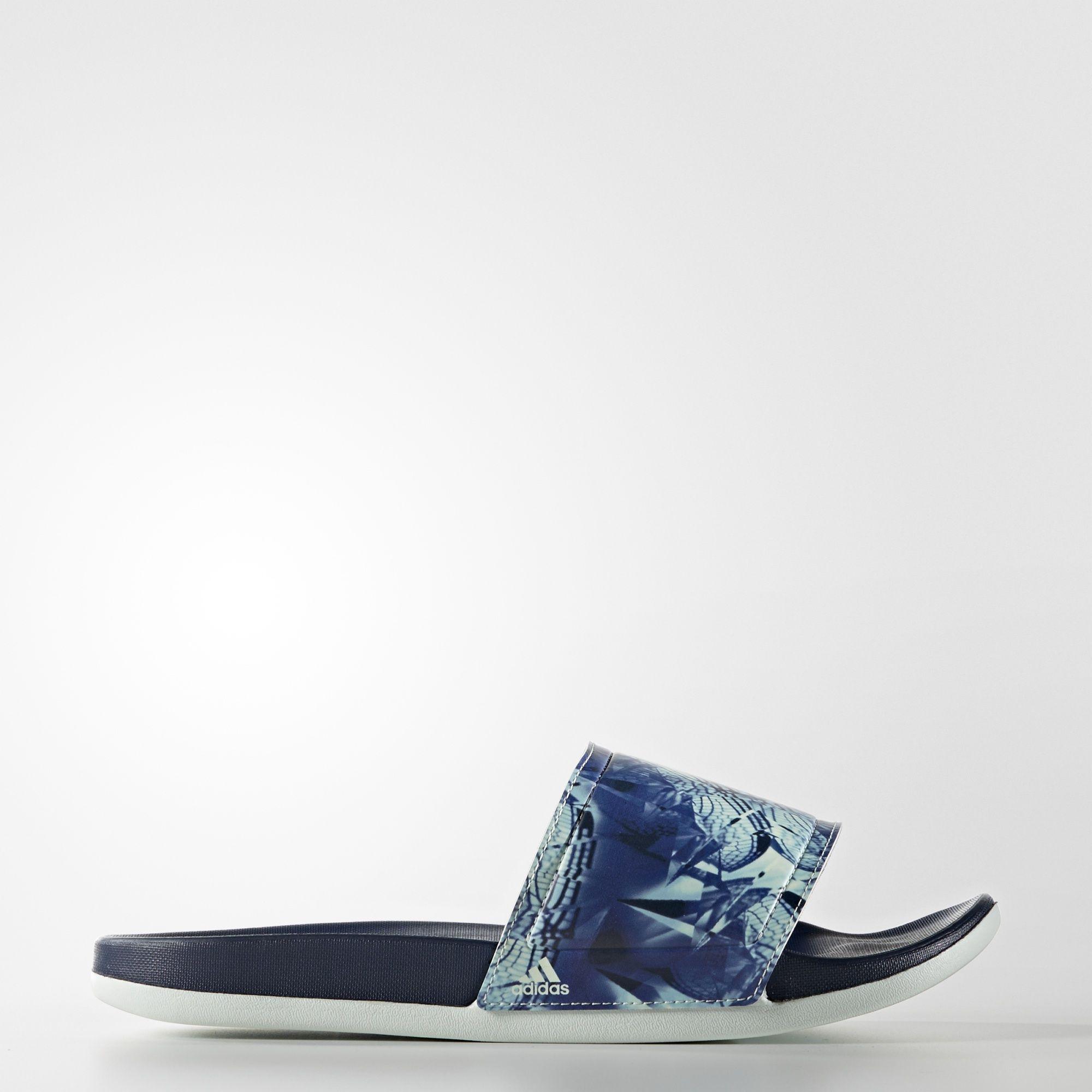 adidas adilette Cloudfoam Ultra Slides  Blue   adidas US