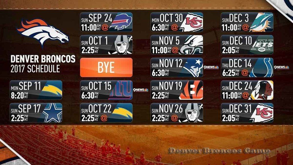 Broncos Game Live Stream Online, Free https//broncosgame
