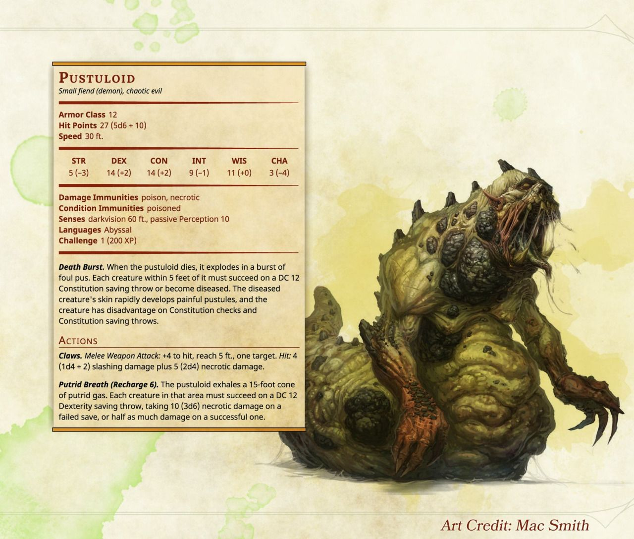 homebrew monsters D&D 5e - Google Search | RPG Stuff in 2019 | Dnd