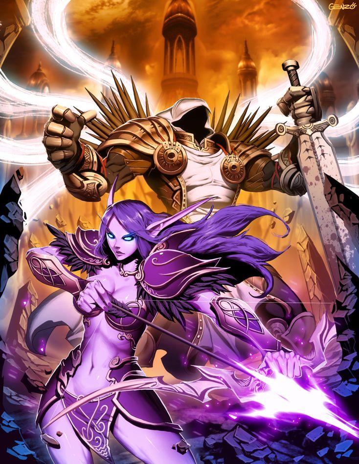 Warcraft X Diablo by *GENZOMAN on deviantART