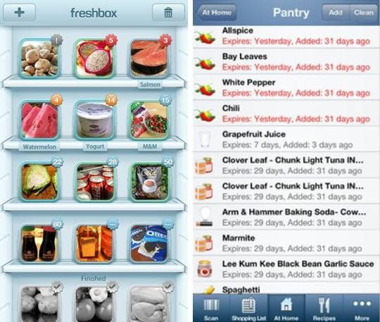 Whats In Your Fridge? 6 Apps To Help You Manage The