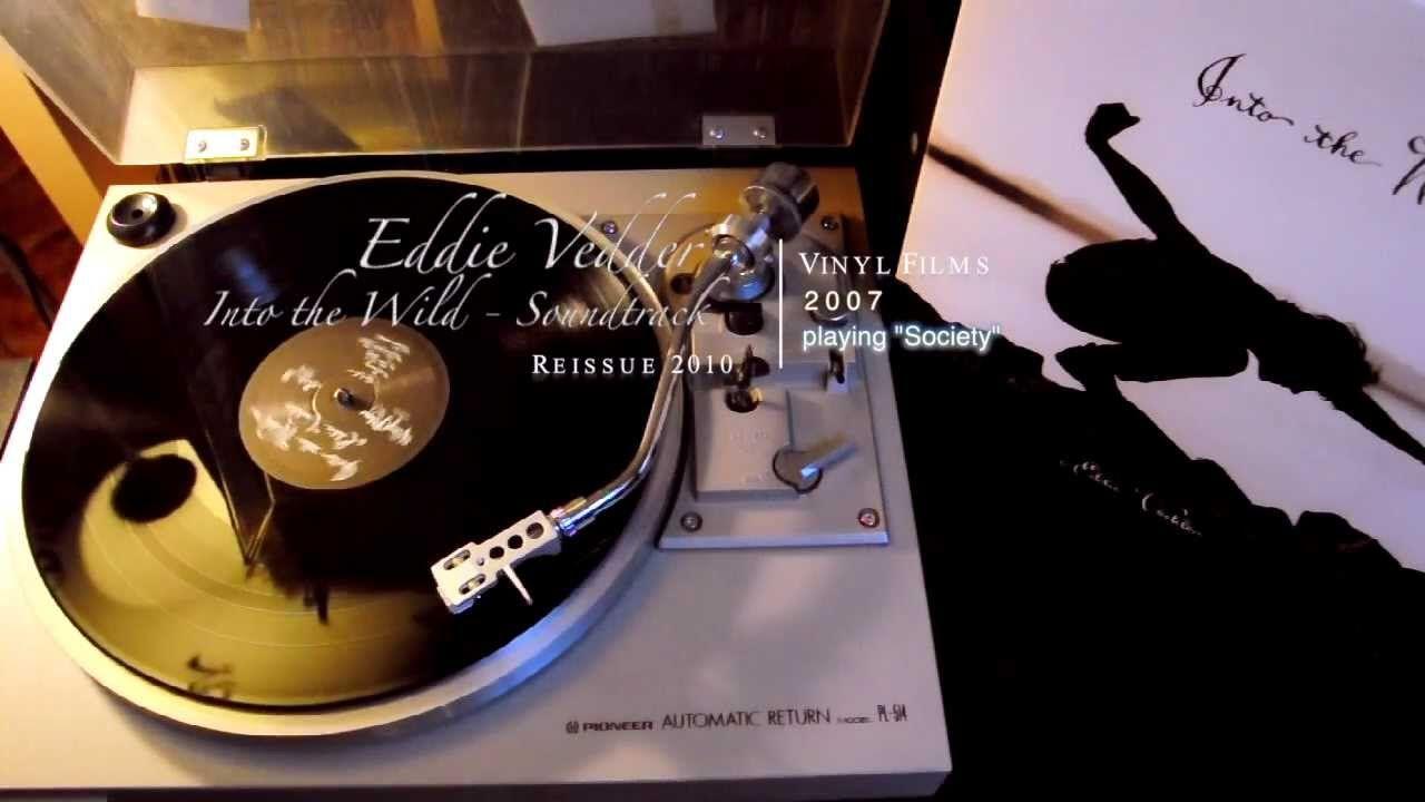 Eddie Vedder Into The Wild Soundtrack Society Vinyl Lp Eddie Vedder Vinyl Eddie