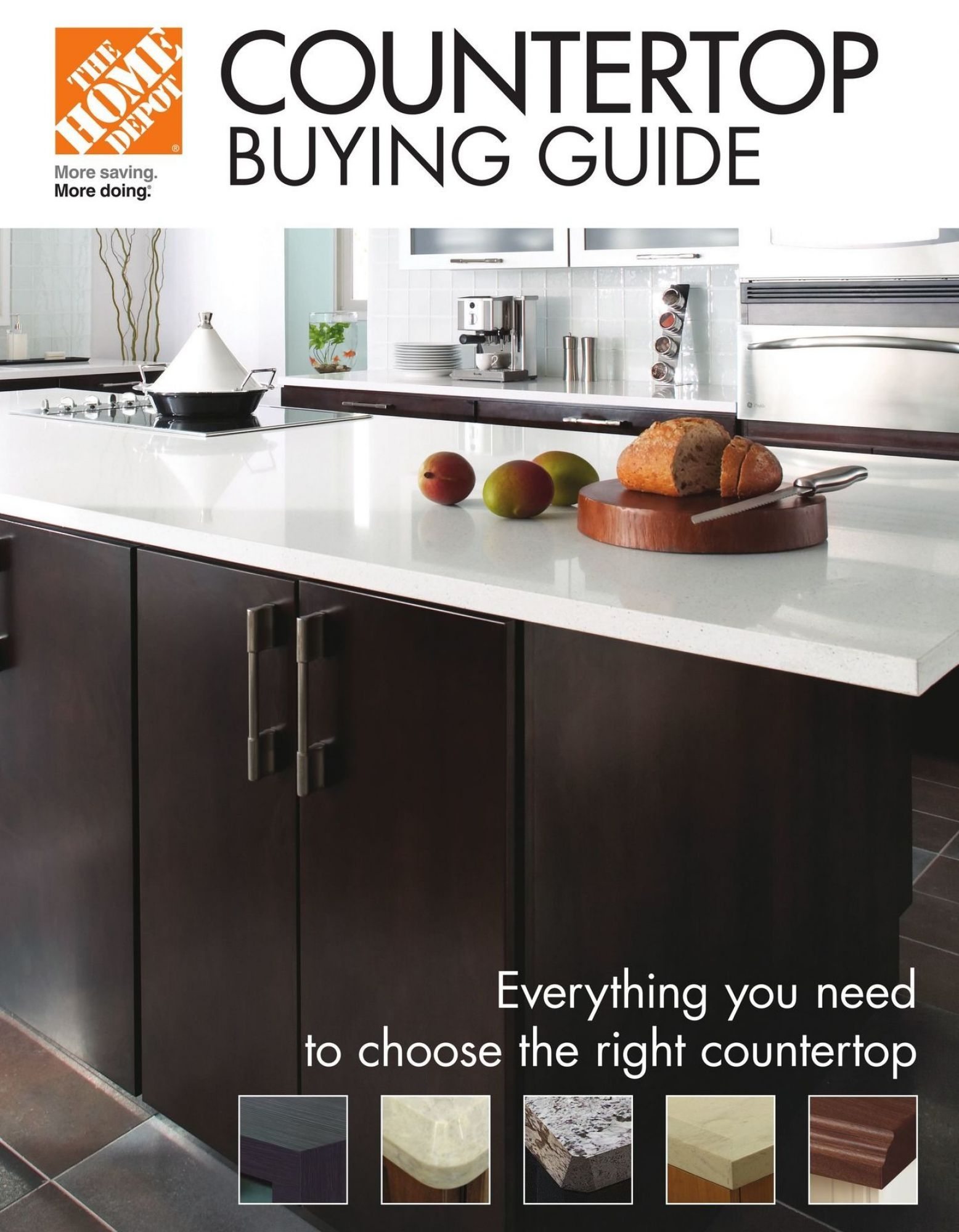 Flyer Home Depot CounterTop Buying Guide Canada from