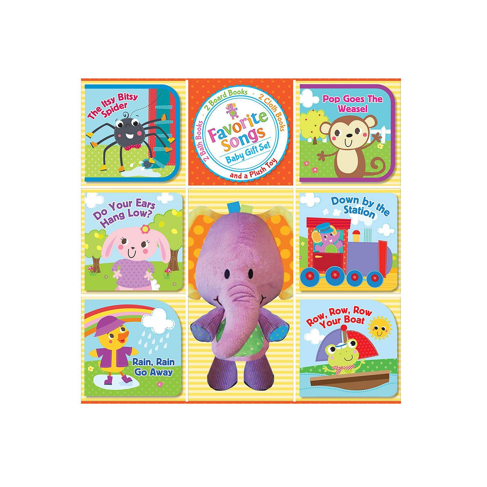 Kidsbooks Favorite Songs Baby Gift Set, Multicolor