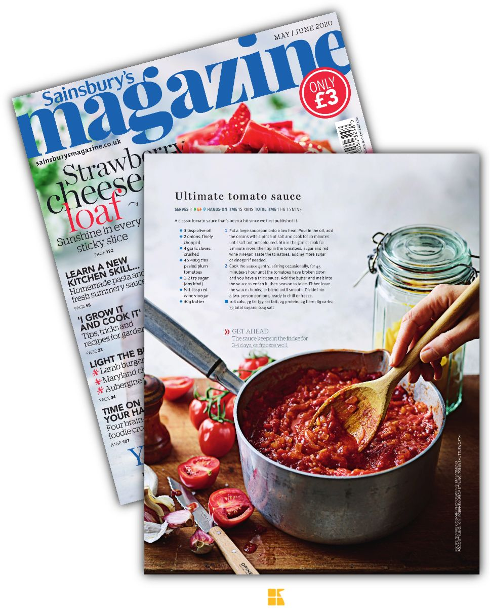 Suggestion About Sainsbury S Magazine Mayjune 2020 Page 60 Health Food Food Recipes