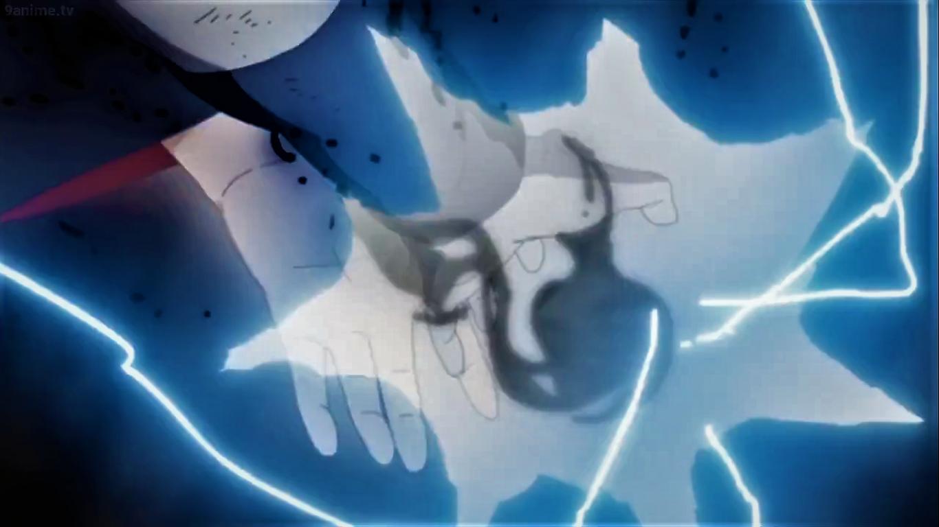 In Sasuke V Naruto Itachi S Hand Helps Sasuke S Chidori Like Many