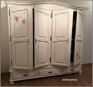 Resultado de imagen de dormitorios pintados a la tiza muebles pinterest dormitorio y pintar - Muebles a la tiza ...