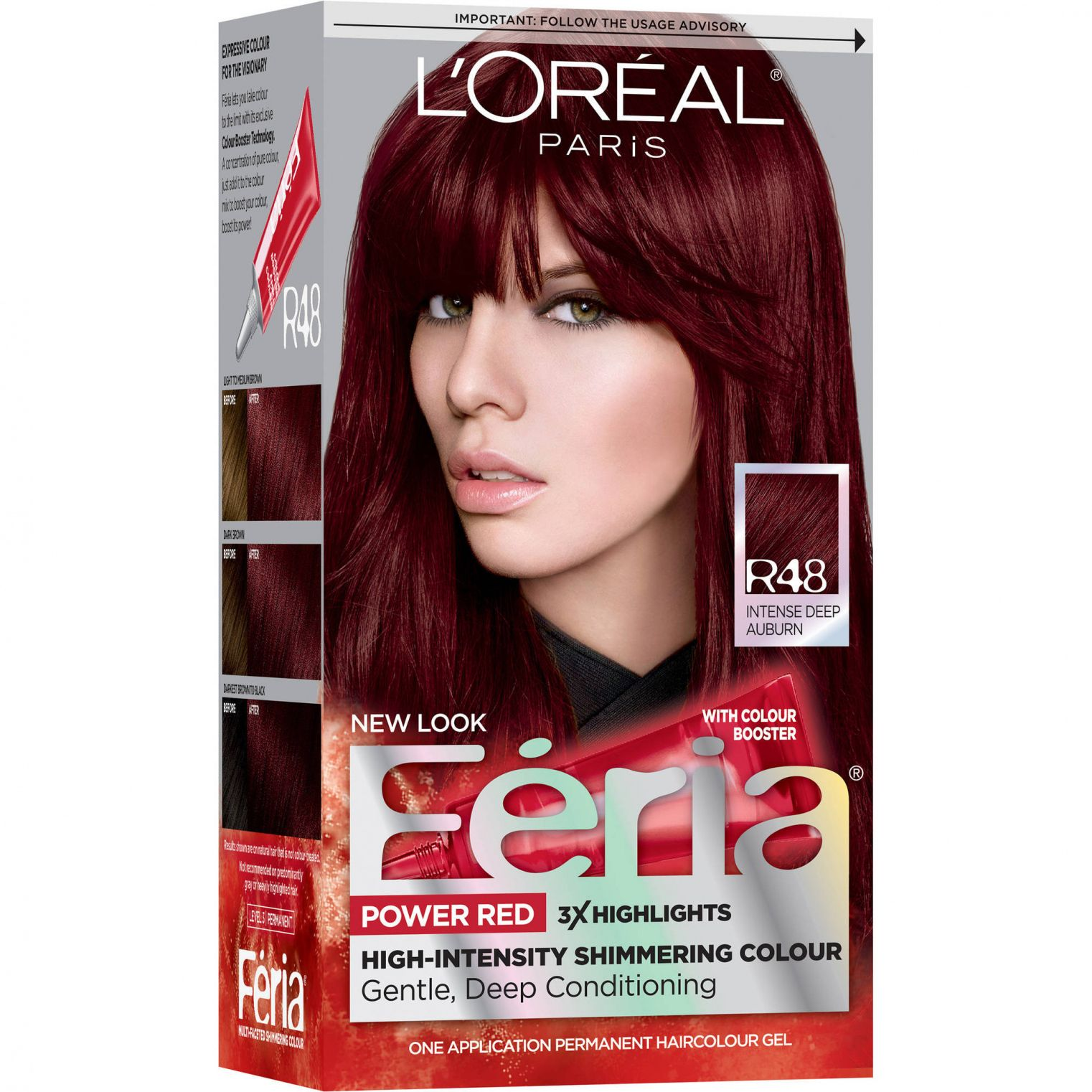 Loreal New Red Hair Color Best Hair Color For Dark Skin Women