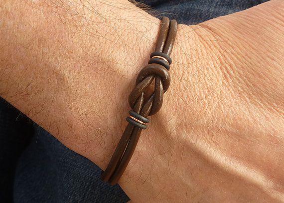 Bracelet pour homme fait maison