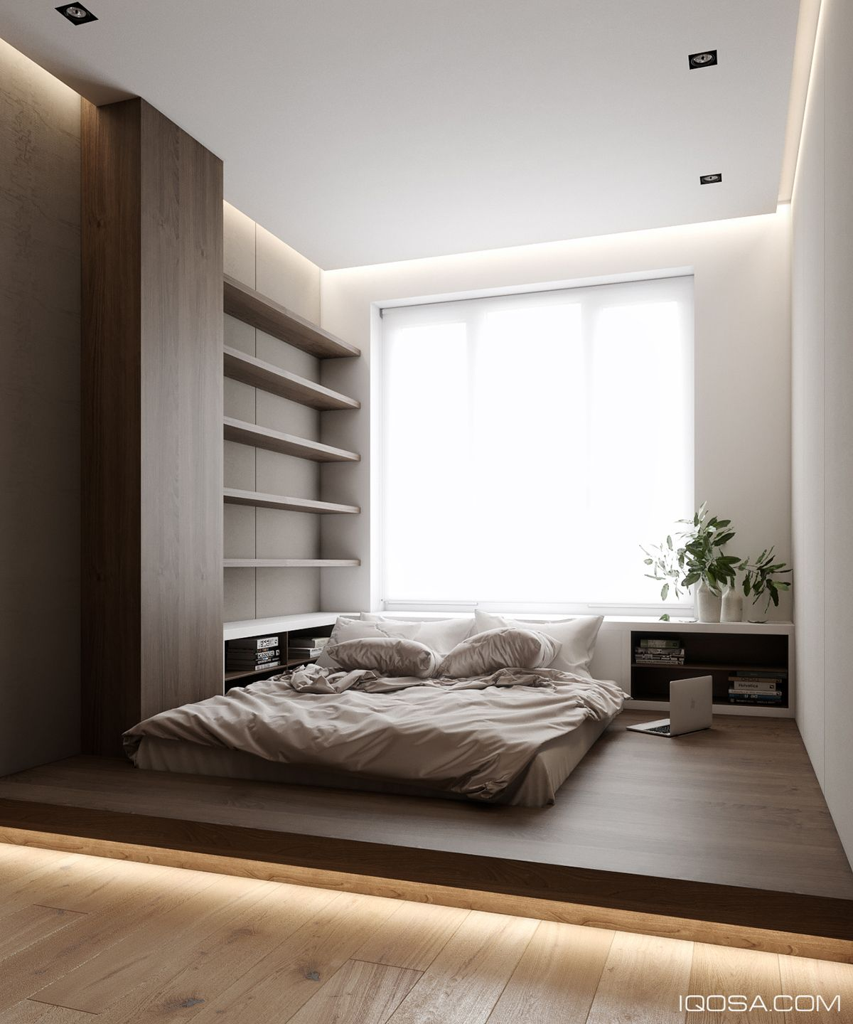 Apartment In Fountain Boulevard Complex On Behance Bedroom
