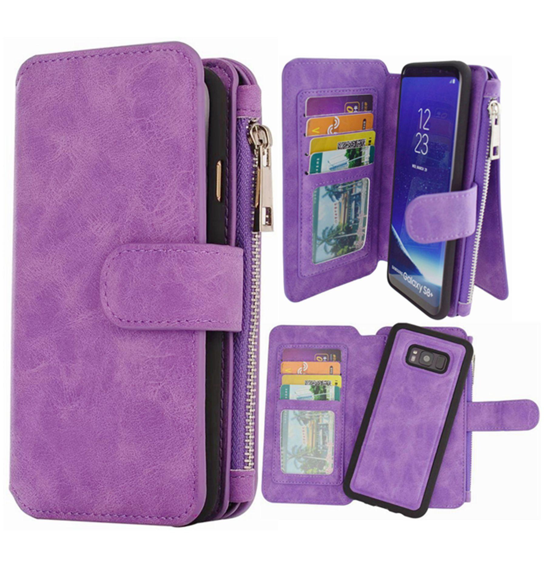 hynice s8 wallet case,galaxy s8 case pu leather detachable magnetichynice s8 wallet case,galaxy s8 case pu leather detachable magnetic with 14 flip card