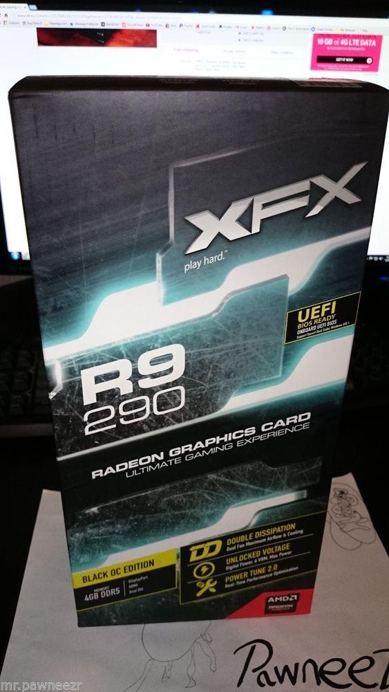XFX Black Edition Double Dissipation R9-290A-EDBD Radeon R9
