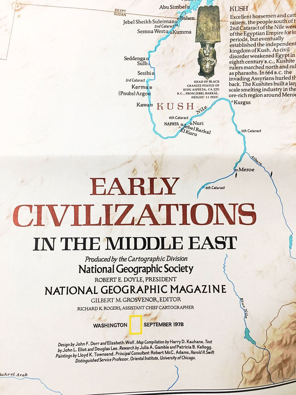 Middle east map and early civilizations national geographic vintage middle east map and early civilizations national geographic vintage map vintage world map large 1978 israel egypt jewish gumiabroncs Choice Image