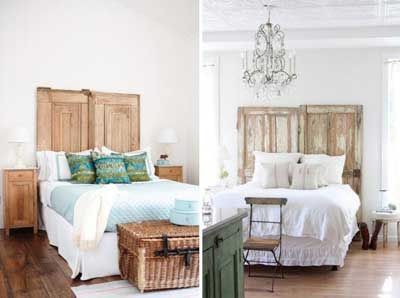 cabeceros rsticos hacer cabeceros cabeceros reciclados ideas para jardn decoracin ideas cama hecho casa pues puertas antiguas