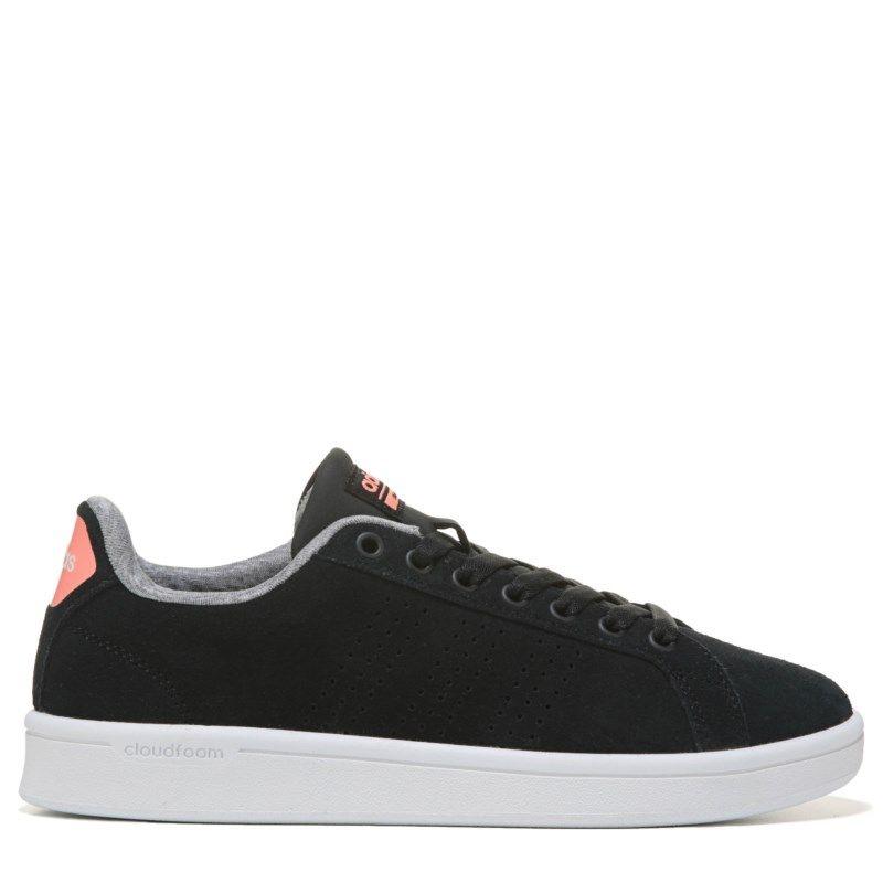 adidas donne neo - cloudfoam vantaggio pulito sneakers (nero / sole