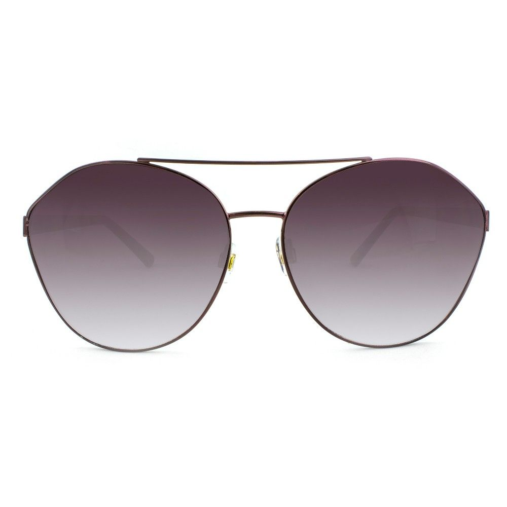 6f17ef511c It s wine o clock somewhere in these angular A New Day aviator sunglasses.  The wine continues flowing into gradient lenses protecting your eyes from  100 ...
