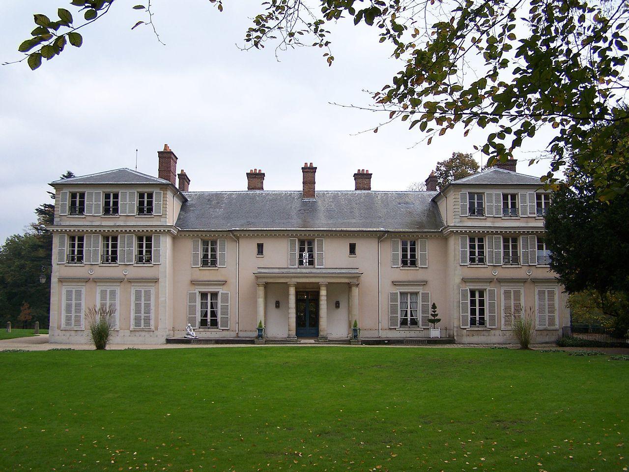 Domaine de Montreuil demeure de Madame Elisabeth de