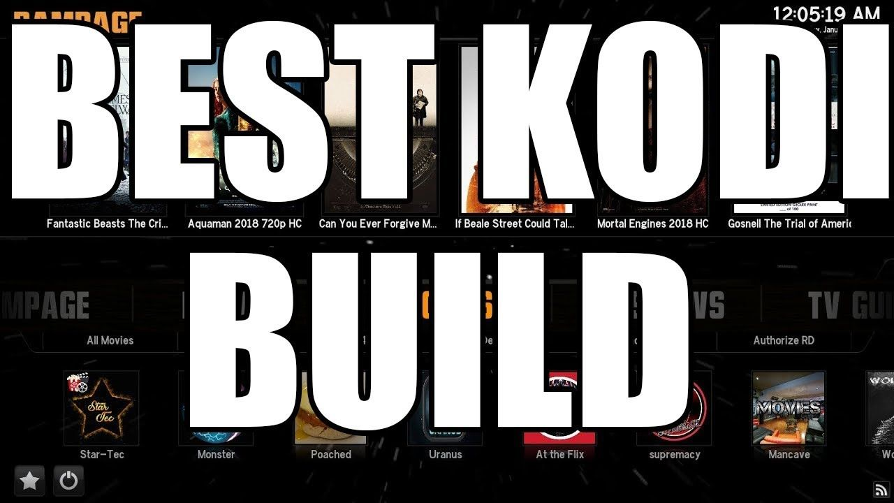 NEWEST & BEST KODI BUILD 🔥 FOR KODI 18 LEIA BUILDS MARCH