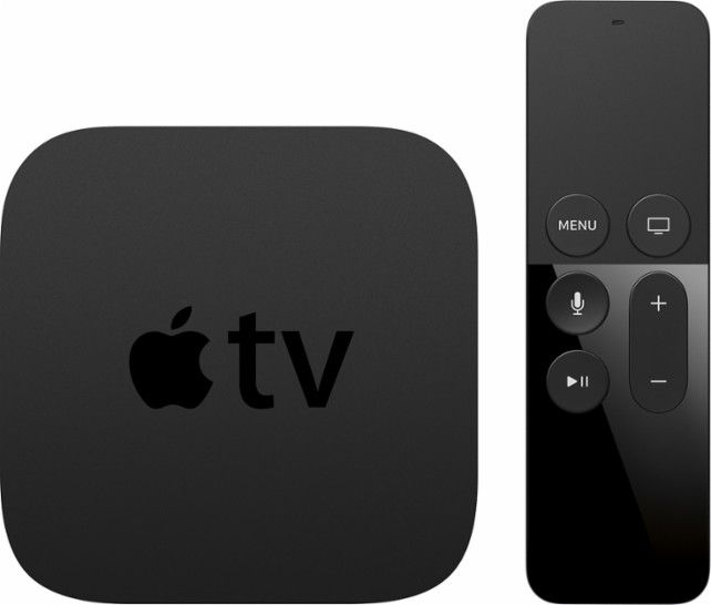 Apple Apple Tv 32gb 4th Generation Latest Model Black Front Zoom Apple Tv Tv Accessories Apple Products