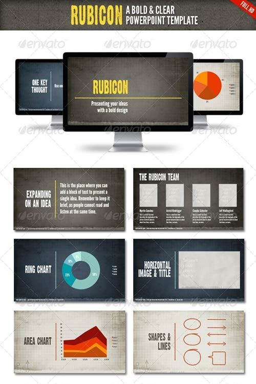 graphicriver rubicon powerpoint presentation template powerpoint