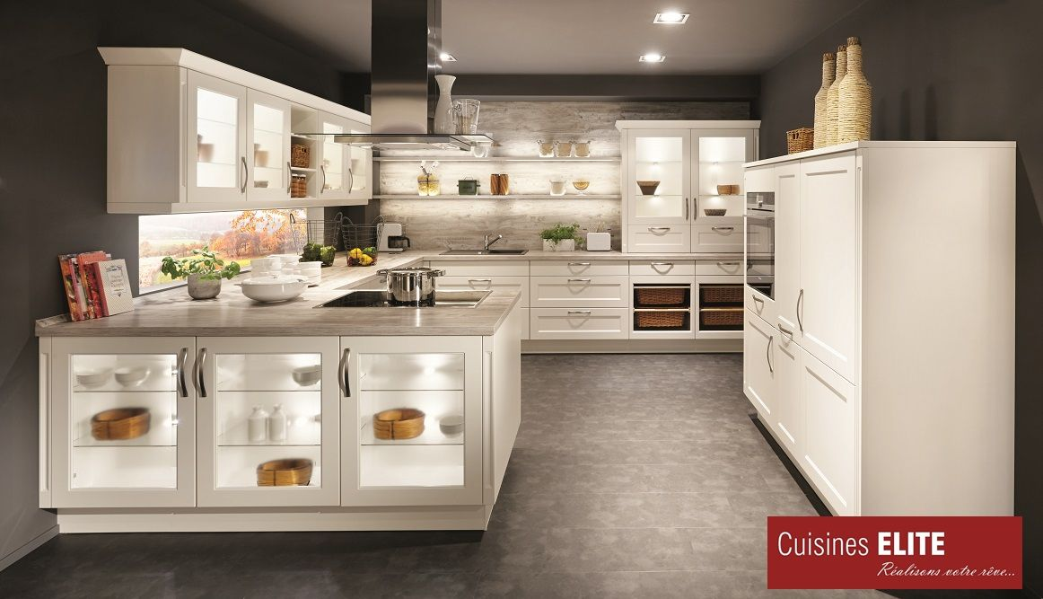 Chalet885 - Laqué Blanc Mat 2 Cuisines Pinterest - ballerina küchen preise