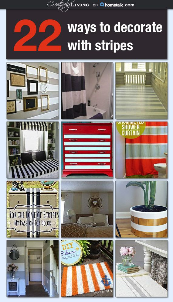 Spaces With Stripes Idea Box By Creatively Living Home Decor