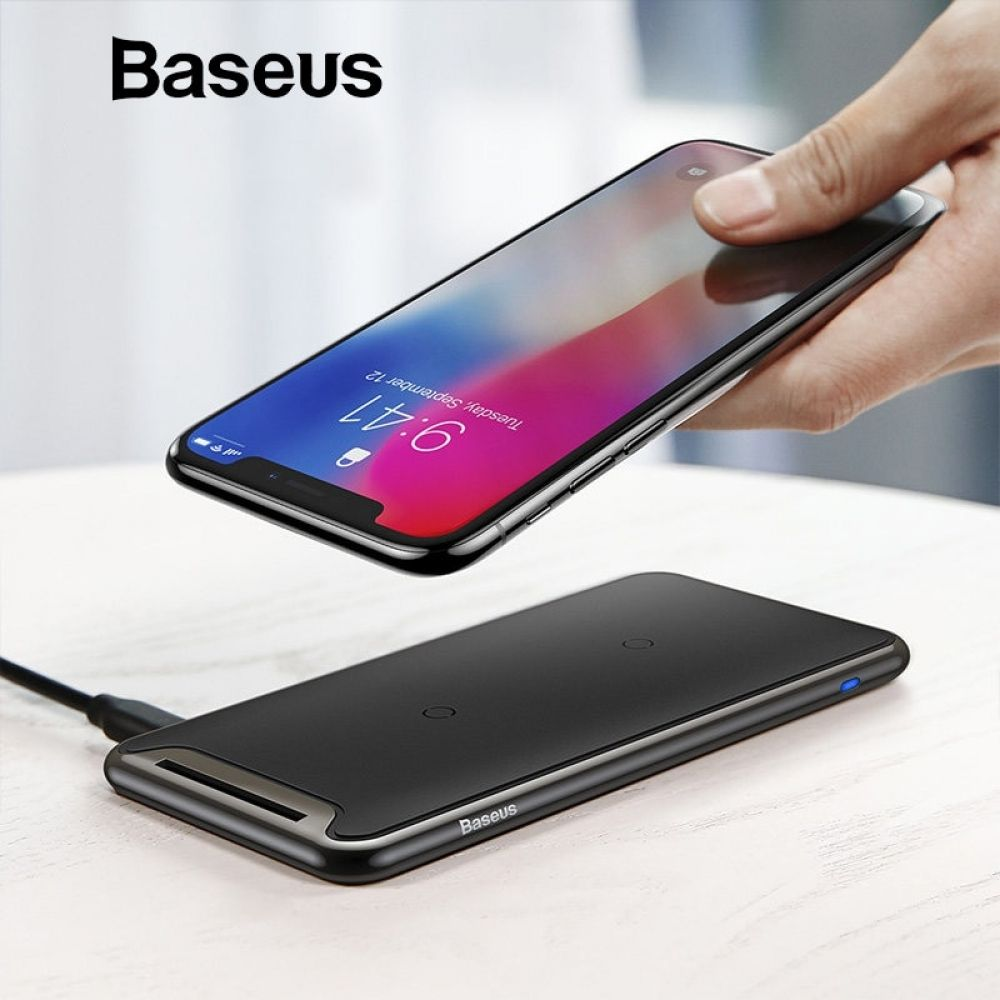 Baseus triple coil wireless charger for iphone x xs max xr