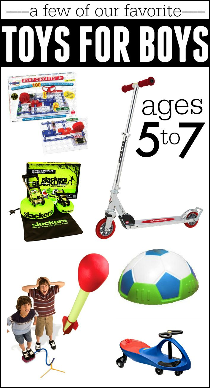 Best Gifts for Boys Ages 5-7 | Kid Blogger Network Activities ...