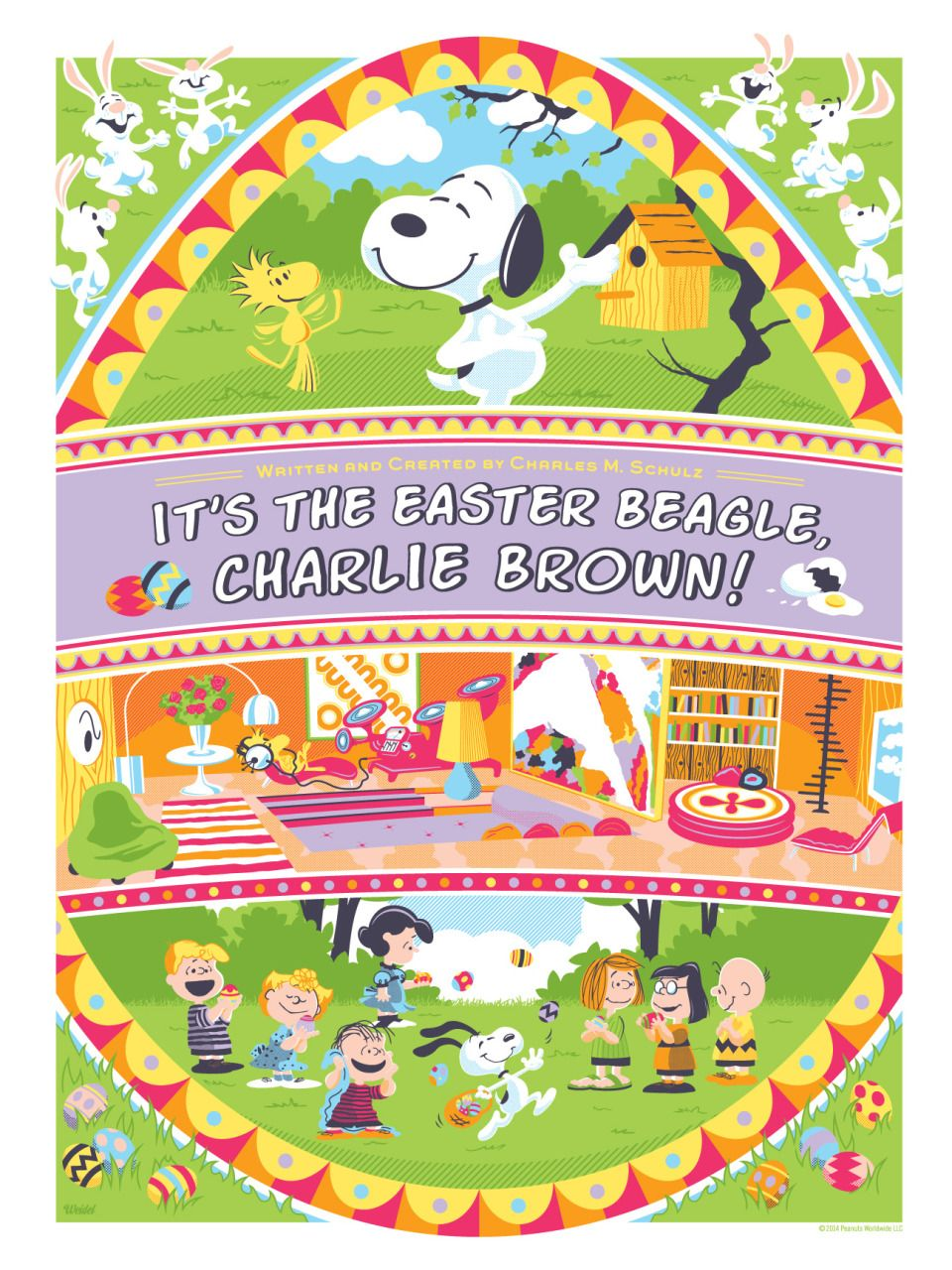 It's the Easter Beagle, Charlie Brown by Jayson Weidel
