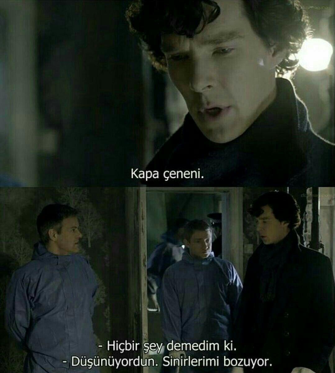 3 bölüm izlemek için sene boyu beklediğimiz Sherlock Holmes'tan en iyi 10 replik!