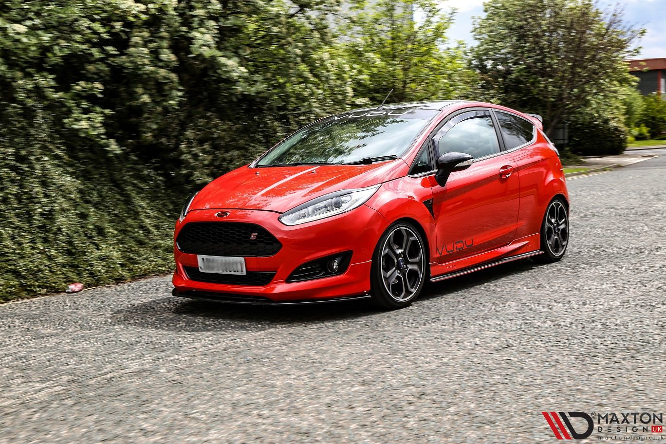 Ignore The Front Splitter Ours Is Much Better Dawson8502 Instagram Sporting Our Side Skirt Diffusers On His Zetec S Maxton Body Kit Ford Fiesta Ford