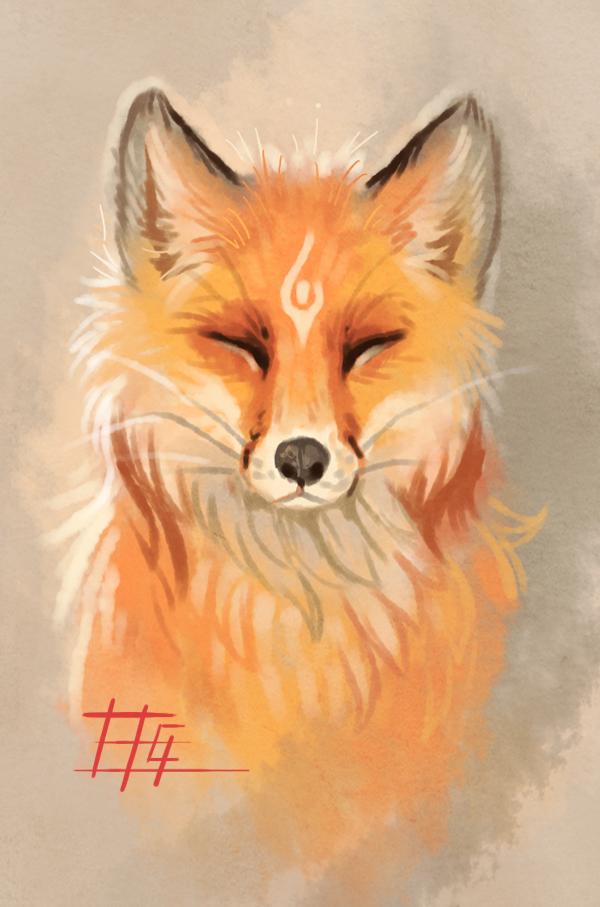 The fox by on deviantart art in 2018 pinterest renard dessin - Dessin renard ...