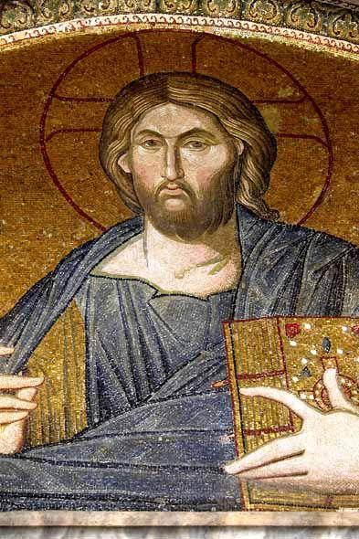 www.school.edu.ru :: Спаситель Хора тон Зонтос. Мозаика в ...