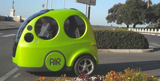 Car That Runs On Air >> Meet The Tiny Little Pod Car That Runs On Air Technology Air Car