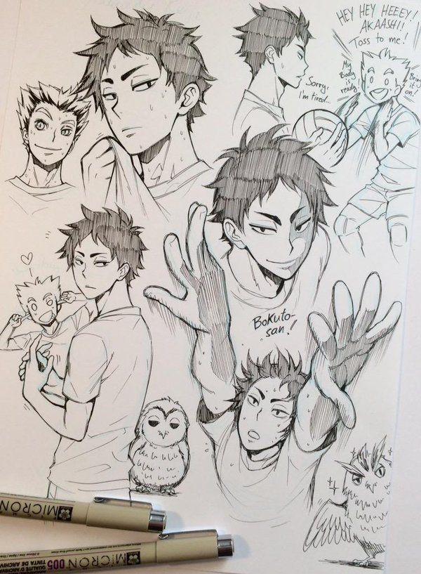 Photos And Videos By Reyhan Lbm Mk135 Reyhans Art Anime Sketch Haikyuu Anime Haikyuu Fanart