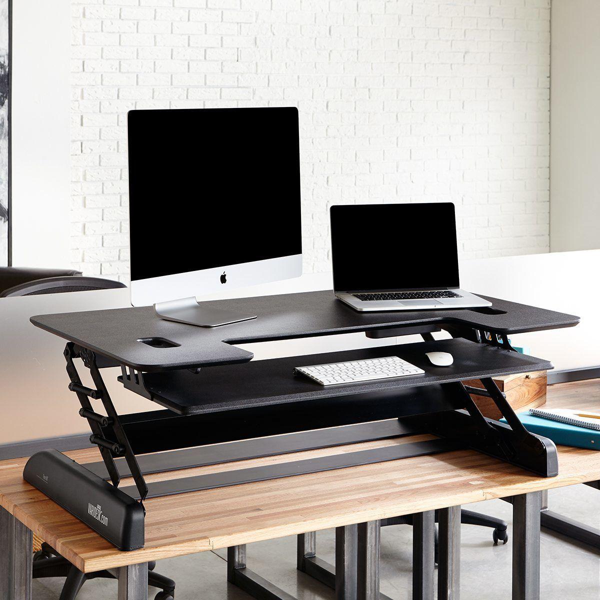 Varidesk review standing desks epic reviews - Standing Desk Products Varidesk Sit To Stand Desks