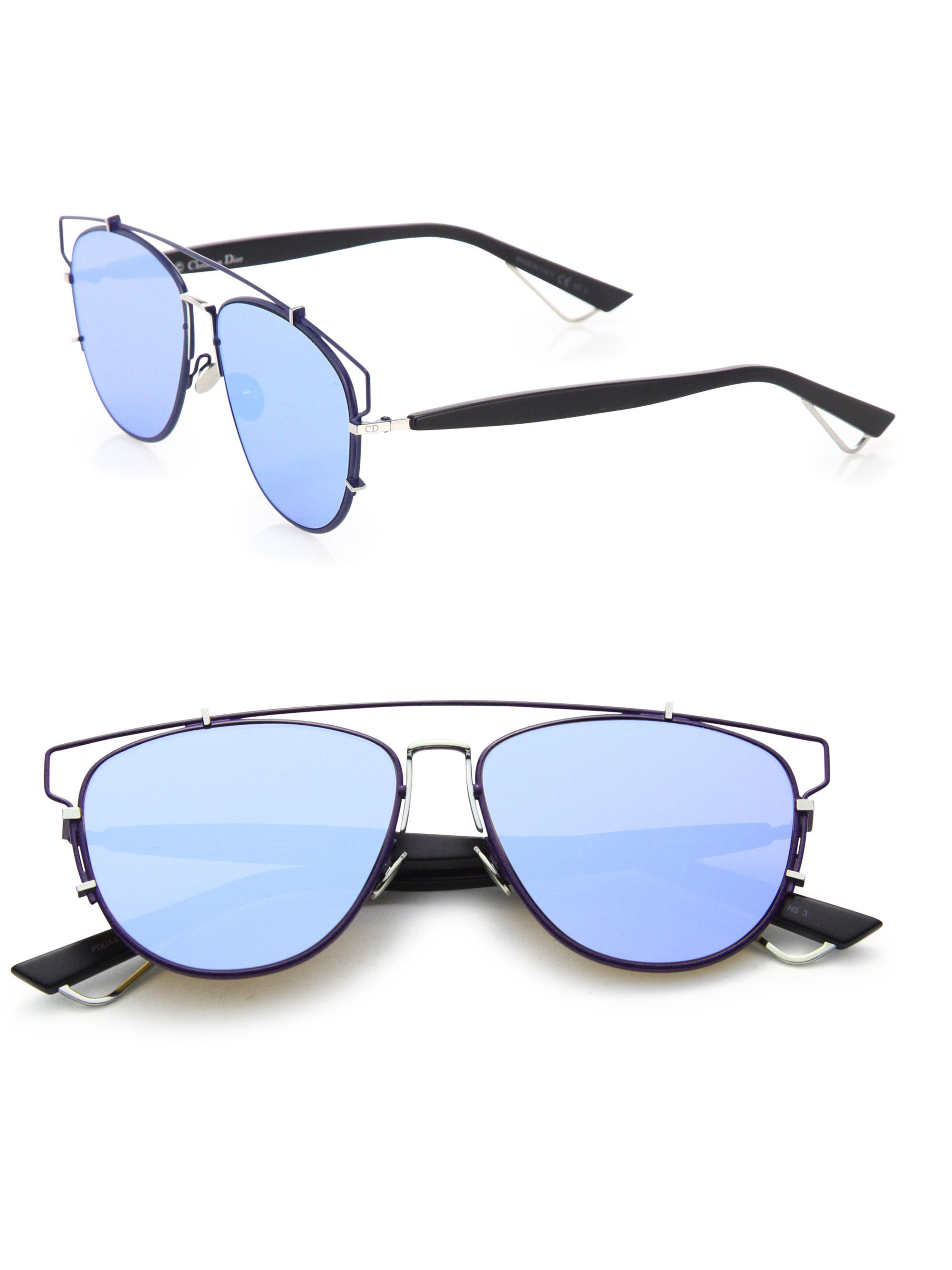 Dior   Blue Technologic 57mm Pantos Sunglasses for Men   Lyst ... 4b7c8f103a18