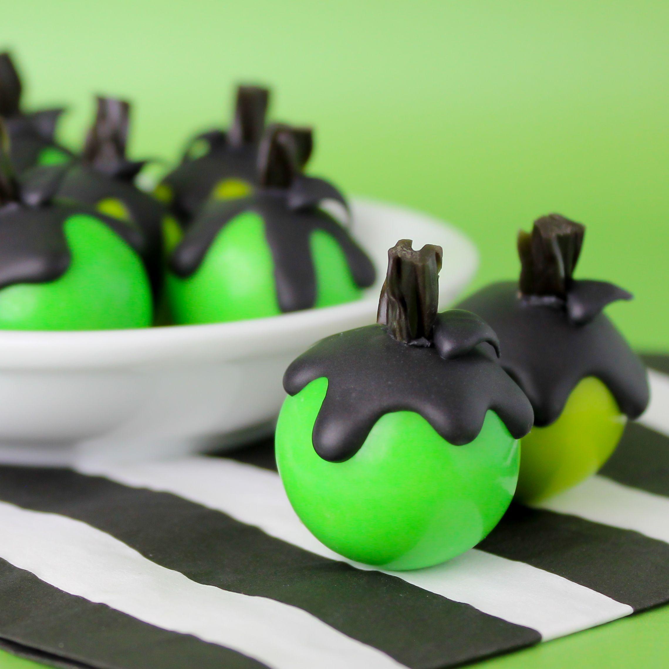 Poison Apple Gum Balls | Make Bake Celebrate