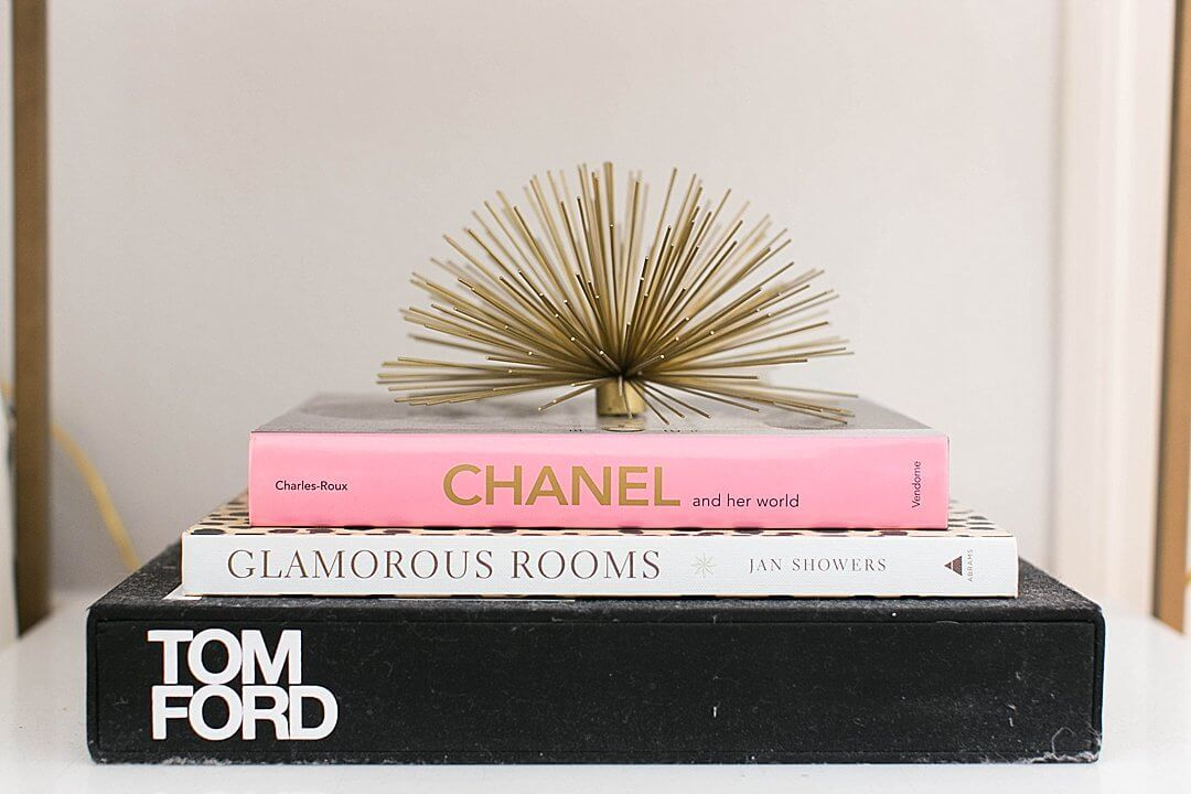 Brighton Keller Bedroom Details Tom Ford Glamorous Rooms Chanel Coffee Table Books With Gold Urchin
