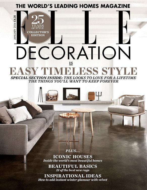 Elle Decoration UK collectors edition celebrating 25 years