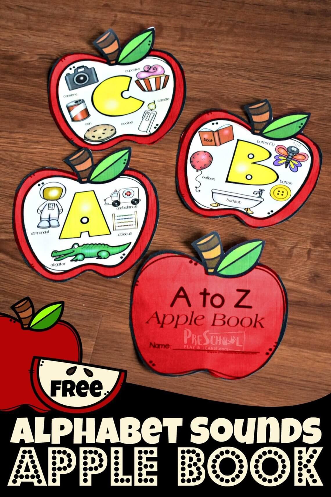 Alphabet Sounds Apple Book