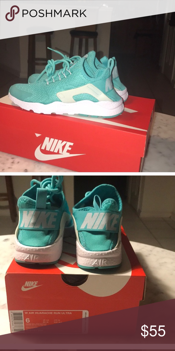 d2f90d008d537 Tennis shoes Brand new Beautiful teal size 6 Huaraches Nike Shoes Sneakers
