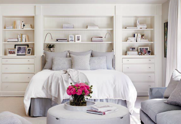 A Classic House Bedroom Built Ins Modern Master Bedroom Master