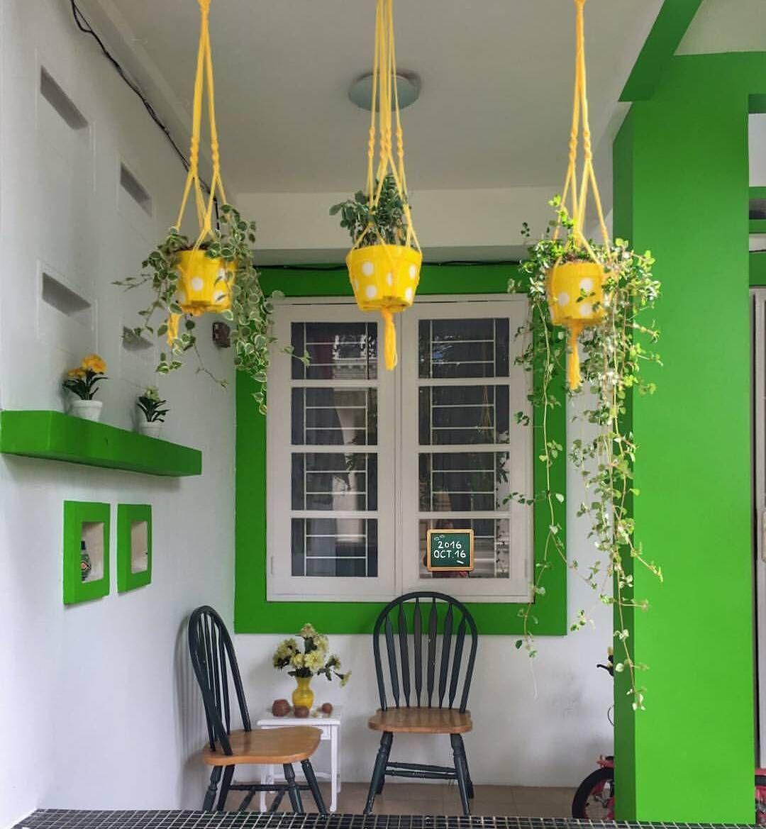 Interior Rumah Minimalis Warna Hijau - Rumah Joglo Limasan Work