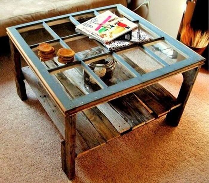 Awesome Table Making Ideas From Wooden Pallet Diy
