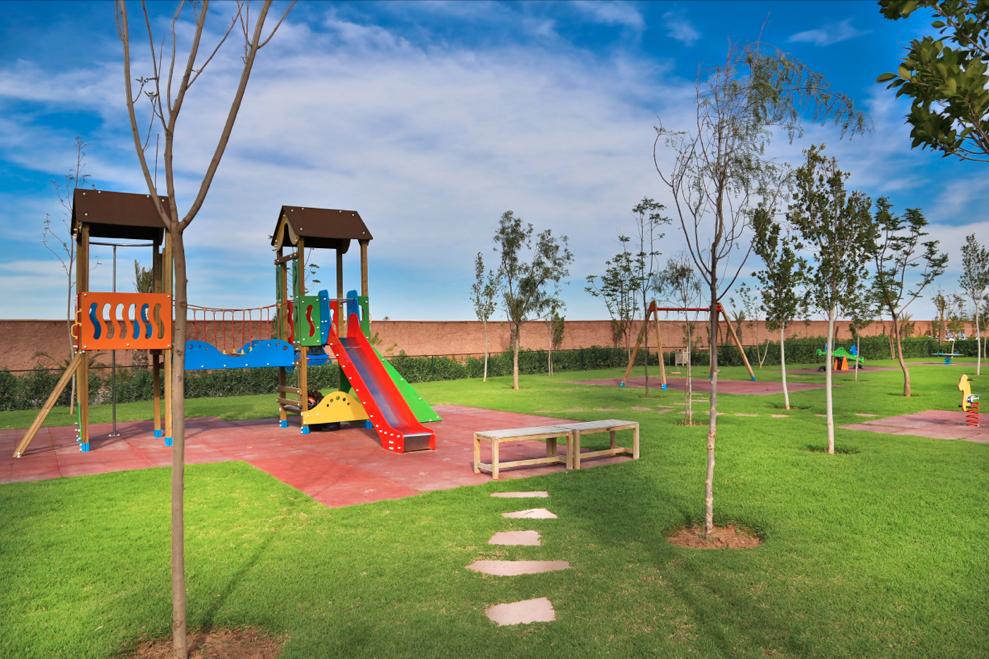 À Al Maaden, vos enfants trouveront aussi leur bonheur parce que Al Maaden, c'est aussi des espaces de jeux dédiés aux activités ludiques des plus jeunes. #AlMaaden #Marrakech